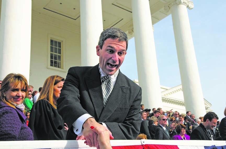 Attorney General Ken Cuccinelli at his inauguration in 2010. - SCOTT ELMQUIST