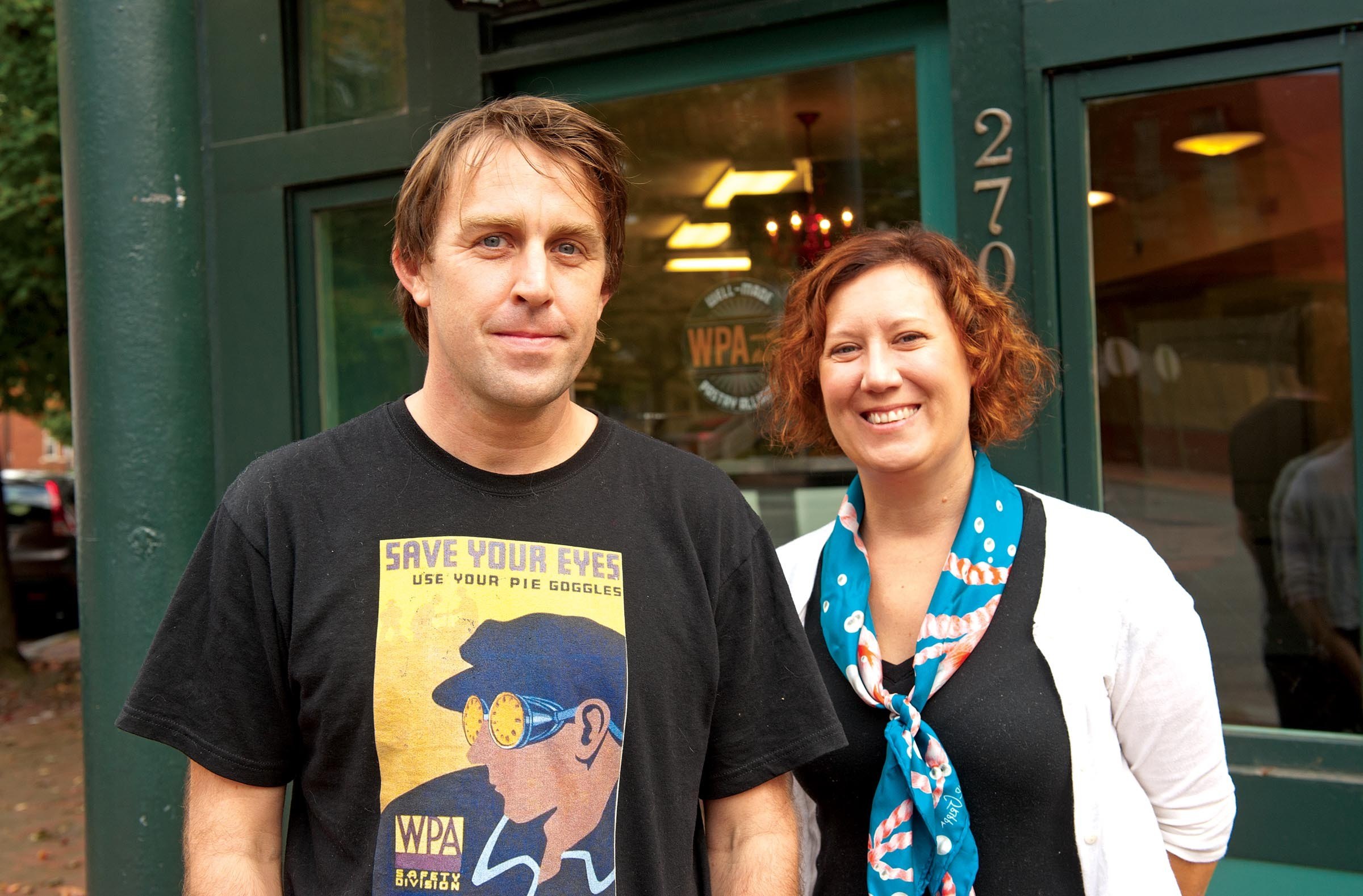 Baker David Rohrer and Feather are teaming to open a new place in early November: the WPA Bakery, which will serve coffee, breakfast pastries, cakes and pies. - SCOTT ELMQUIST