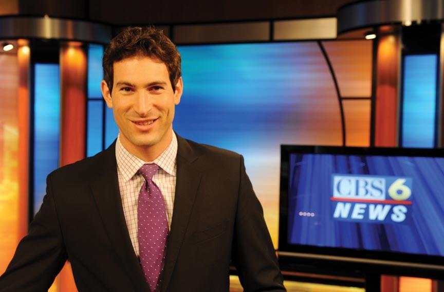 Best Hair on a Male News Anchor   Sam Brock, CBS-6   People