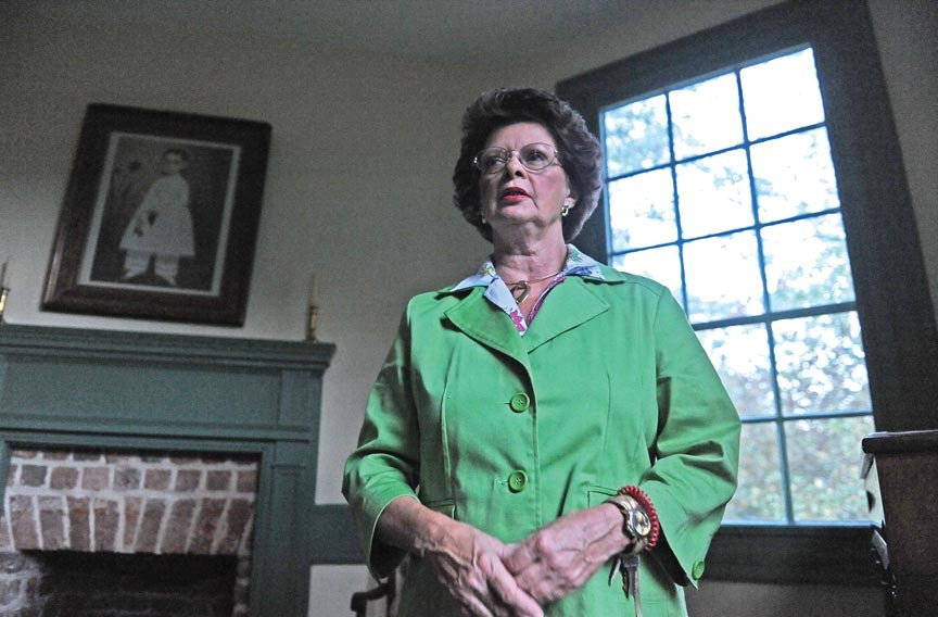 "Betty Webb, a former Weston Plantation tour guide, says she once saw a floating spirit in the historic Hopewell home. ""She didn't have any face. Her hair was all wavy and flowing ... and from the bottom on up, she just disappeared. I don't think she liked me."" - SCOTT ELMQUIST"