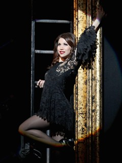 "Bianca Marroquin as Roxy in ""Chicago."""