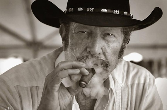"""Bill Clinton's favorite mystery novelist, Kinky Friedman, brings his irreverent one-man show to Ashland. """"I suffer from the curse of being multi-talented,"""" the writer, singer and provocateur says. - LARRY PULLEN"""