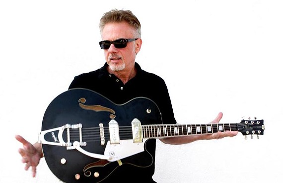 """Blues believer: Guitarist and producer Pete Anderson sold more than 25 million records with Dwight Yoakam and has been a bandleader on """"Late Night with David Letterman"""" and """"Saturday Night Live."""""""