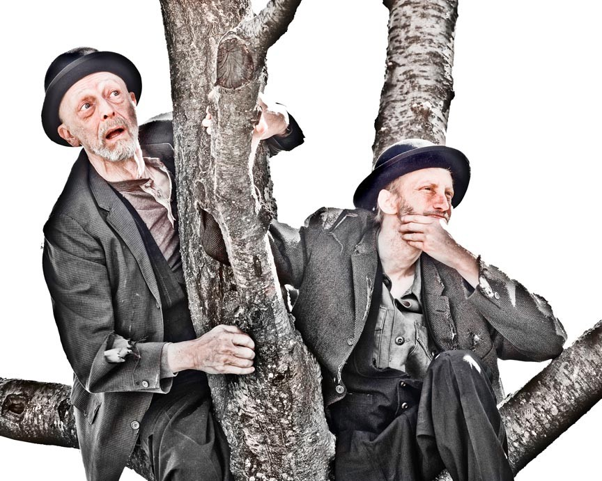 Bob Nelson is Vladimir and Bob Jones is Estragon in Henley Street's talky rumination on life, liberty and longing.