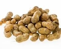 Boiled peanuts.