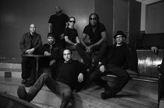 Boyd Tinsley, seated second from the right, has been the violinist for the Dave Matthews Band since 1991.