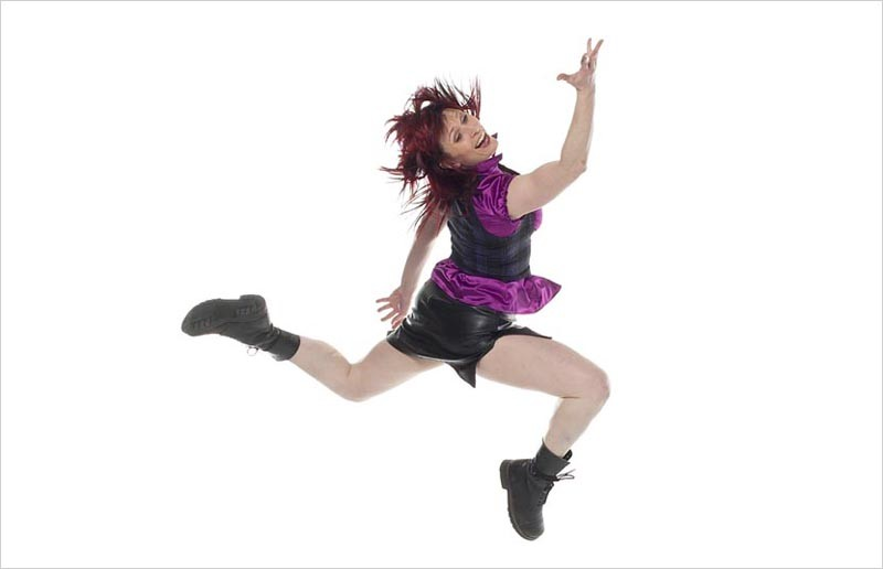 Brandi Coleman of the Jump Rhythm Jazz Project. - WILLIAM FREDERKING