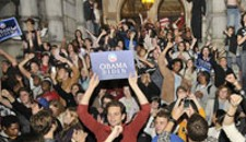 Broad Street's Obama Celebration