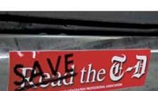 Bumper Sticker Upsets T-D Publisher