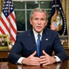 Bush <i>Not</i> Arrested in Richmond, Despite Activists' Polite Request