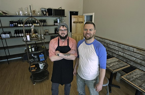 Chef Adam Hall and co-owner Jay Bayer of Saison open the market and cafe side of their business next week in Jackson Ward.