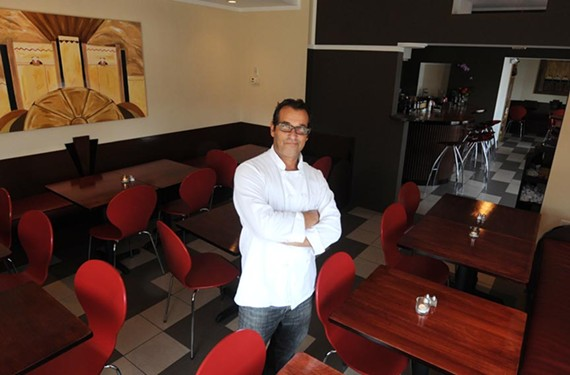 Chef Giuseppe Scafidi puts a stamp on the Museum District with Deco Ristorante, where Sicilian street food snacks are unusual starters. - SCOTT ELMQUIST
