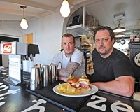 Chef John Seymore and Rick Lyons are open for business at the newest Scott's Addition eatery, Lunch, which also serves breakfast and dinner.