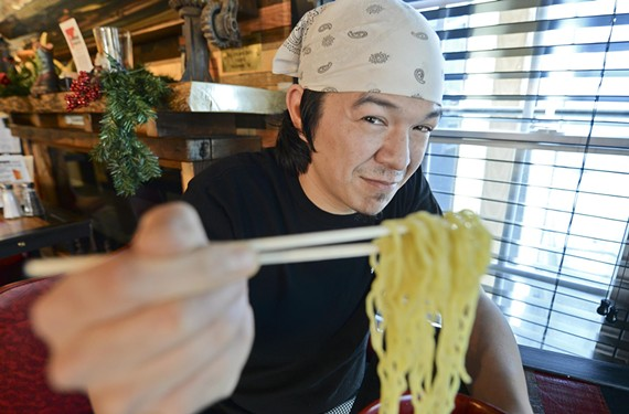 Chef Will Richardson is wowing crowds with his pop-up, Shoryuken Ramen.