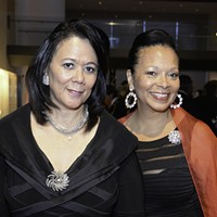 "VMFA Oct. 14: ""An Evening in the Forbidden City"" Cheryl Perkins (left), wife of Virginia Union University President Claude Perkins and Rita Henderson, director of art acquisitions, marketing and development at VUU, were at the gala."