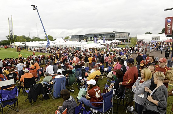 City Council wants to find a better way to coordinate the city's big economic-development projects, such as the Redskins Training Camp. (File photo)