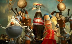 Coca-Cola's much heralded Happiness Factory commercial, co-created by Norman, was an over-the-top fantasy of what happens inside a vending machine before the bottle emerges.