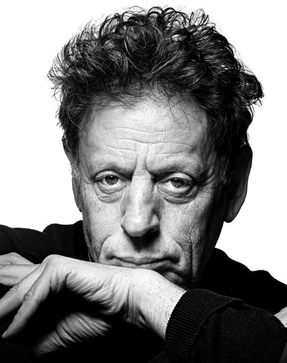 Composer Philip Glass offers a glimpse of his creative process at the University of Richmond on Oct. 4. - RAYMOND MEIER