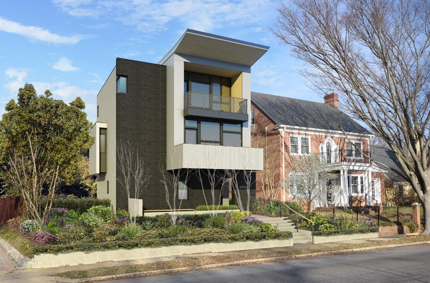 Modern Architecture Render contemporary love | arts and culture | style weekly - richmond, va