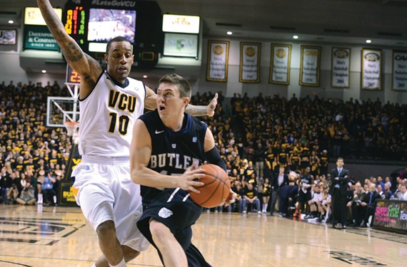 Could VCU, led by senior guard Darius Theus, deploy one of the most difficult of defensive schemes: the full-court press after missed shots? - SCOTT ELMQUIST