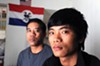 Cung Thawng and his son Samuel Lian fled from Burma, arriving in Richmond as refugees in 2009. Lian now is a freshman at Virginia Commonwealth University, and his father works in the kitchen at Richmond retirement community Westminster Canterbury.