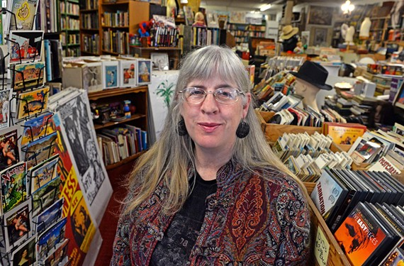 """Current owner Kathryn Pritz took over the eclectic Richmond Book Shop with Robert Lewis in 1995, buying it from the grandparents of Vince """"Breaking Bad"""" Gilligan."""