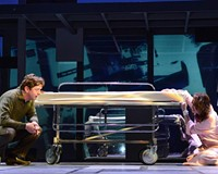"""Dan (played by Duke Lafoon) and his wife, Diana (played Andrea Rivette) provide riveting performances and clear singing voices in """"Next to Normal,"""" a must-see musical about mental illness."""