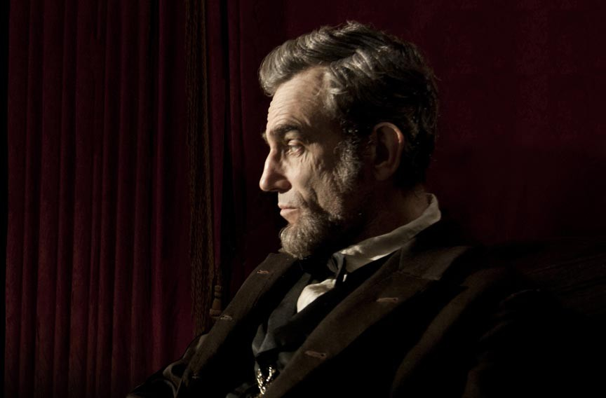 Daniel Day Lewis as Lincoln. - DREAMWORKS PICTURES