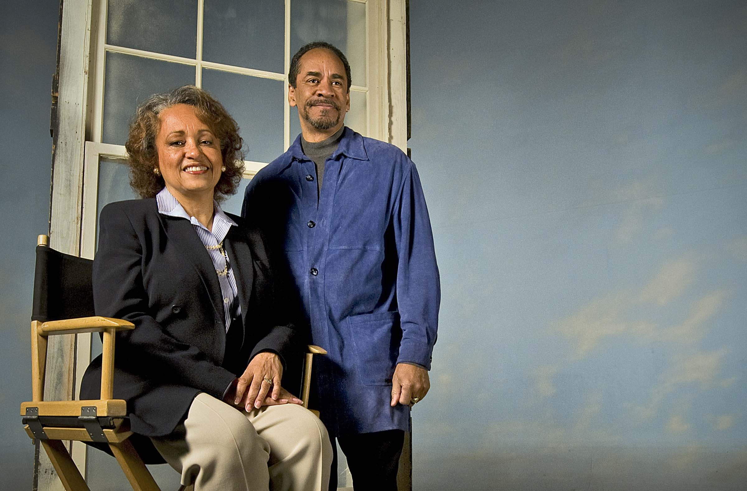 Daphne Maxwell and Tim Reid of radio and television fame built a pioneering movie and video studio 17 years ago. - ASH DANIEL