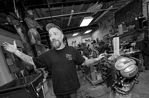 """Dave Brockie, who died in March at 50 of a heroin overdose, used to tell friends he'd want to be replaced in the band by """"a 7-foot-tall black man and a midget."""" - ASH DANIEL"""