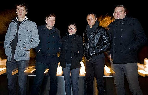 Dead Fame is, from left, Eric Klemen, Chris DiNitto, Sadie Powers, Michael Means and K.C. Byrnes. - ASH DANIEL