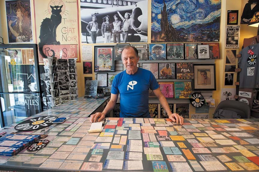 """Deep Groove's Jay Leavitt started his own store after years of working at Plan 9. """"You make your money on the used stuff."""" - SCOTT ELMQUIST"""