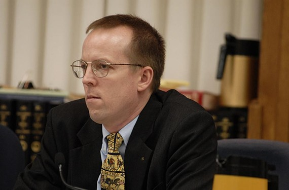 Delegate Rob Bell, a Republican, joined Democrat Deeds on a joint subcommittee to study mental health services over the next four years. - ASH DANIEL