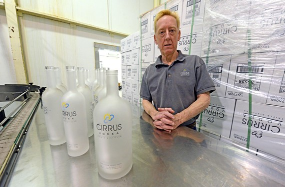 Distiller Paul McCann began producing vodka in 2006, one of the first in the movement to make small batches of craft spirits. - SCOTT ELMQUIST