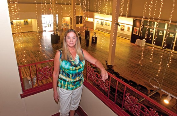 Donna Jacobs, founder of the Petersburg Regional Arts Center, has spent the last nine years building the city's arts scene. - SCOTT ELMQUIST