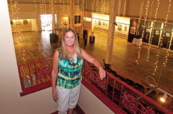 Donna Jacobs, founder of the Petersburg Regional Arts Center, has spent the last nine years building the city's arts scene. - SCOTT ELMQUIST
