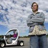 Don't Honk — Golf Cart Is Really a Car