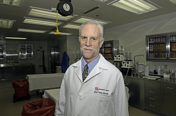 Dr. Noel Boaz, who brought the new technique to America from Austria, plans to use Thiel cadavers in the medical school he's opening in Martinsville. - SCOTT ELMQUIST