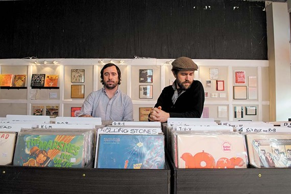 Drew Snyder and Marty Key of  Steady Sounds. - SCOTT ELMQUIST