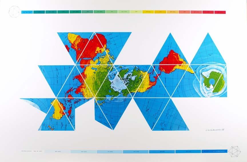 Dymaxion Air-Ocean Map (1980)