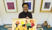 Elegba Folklore Sells Art for Haitian Relief