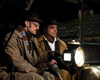 """""""Elementary school, my dear Watson!"""" Jude Law and Robert Downey Jr. are miscast, again, in """"Sherlock Holmes: A Game of Shadows."""""""