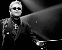 Elton John at the Richmond Coliseum
