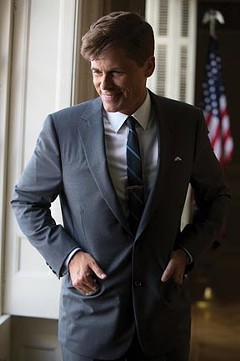 "Emily Nussbaum says she hasn't yet seen the National Geographic Channel's ""Killing Kennedy,"" starring Rob Lowe, which was shot in Richmond. But the as-billed ""global television event"" is set to air Sunday, Nov. 10, at 8 p.m. - NATIONAL GEOGRAPHIC CHANNEL/KENT EANES"