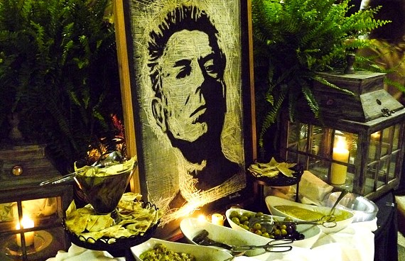 """:  """"Every American should know how to cook a perfect omelet, how to roast a chicken, how to properly grill a fucking steak,"""" Anthony Bourdain told his audience at the Landmark Theater on April 23."""