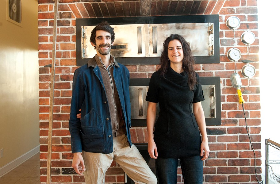 Evrim and Evin Dogu bring sibling and cultural pride to their work running Sub Rosa Wood Fired Bakery in Church Hill, the city's hottest culinary destination lately. Nearby, folks lined the block for the opening of Proper Pie Company. - SCOTT ELMQUIST