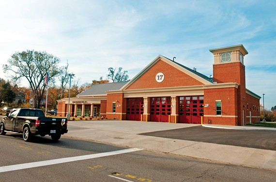 Fire Station No. 17 sits in Woodland Heights. - SCOTT ELMQUIST