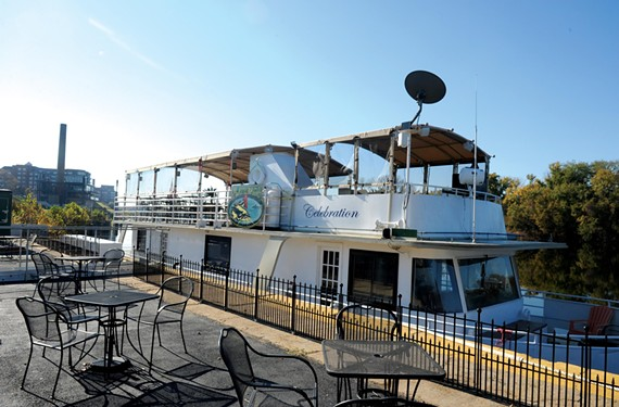 Flatheads, the floating (but not moving) restaurant east of downtown is ready to open any day now, with lap robes and fire pits to keep customers warm by the dock. - SCOTT ELMQUIST