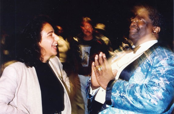 "Former CBS News producer Roberta Oster Sachs followed her subject, legendary bluesman B.B. King, on the road during the 1992 filming of a ""60 Minutes: Street Stories"" segment on the guitarist. - ROBERTA OSTER SACHS"