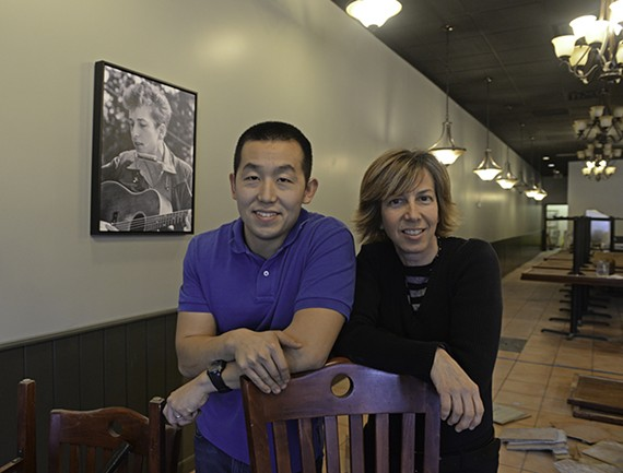 Former marine Kevin Liu and former owner of Harrison Music, Lisa Harrison, are joining forces to open the Tin Pan, a new listening room and restaurant in the former Don Pedro restaurant space at 8982 Quioccasin Road in Henrico County. The space is hoping to open in March with live music four nights a week. - SCOTT ELMQUIST
